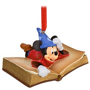 Sorcerers Apprentice Mickey Mouse Ornament