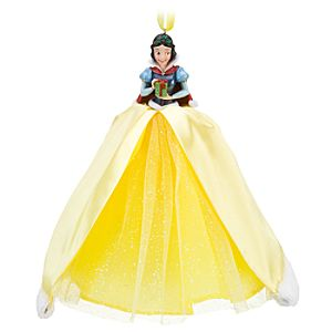 Winter Snow White Ornament