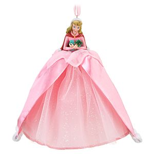 Winter Outfit Sleeping Beauty Ornament