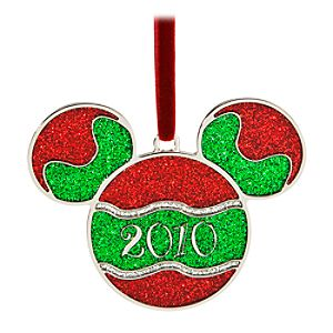 Personalized 2010 Mickey Mouse Ornament