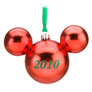 2010 Mickey Mouse Icon Ornament