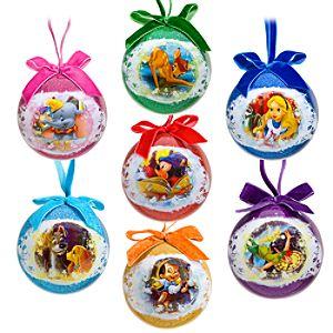 World of Disney Decoupage Ornament Set -- 7-Pc.