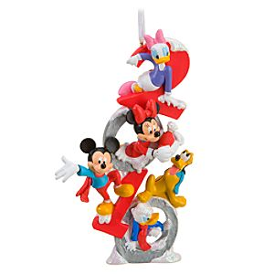 Limited Edition 2010 Sculpted Mickey Mouse Ornament