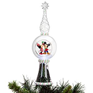 Light-Up Minnie and Mickey Mouse Tree Topper