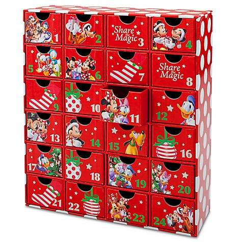 Mickey Mouse Advent Calendar Gift Drawers