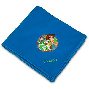 Personalized Toy Story Fleece Throw Blanket