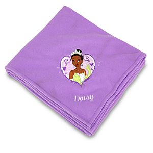 Personalized Tiana Fleece Throw Blanket