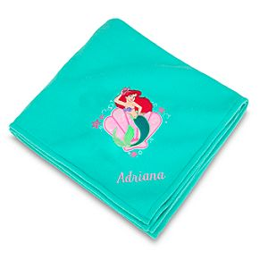 Personalized Ariel Fleece Throw Blanket