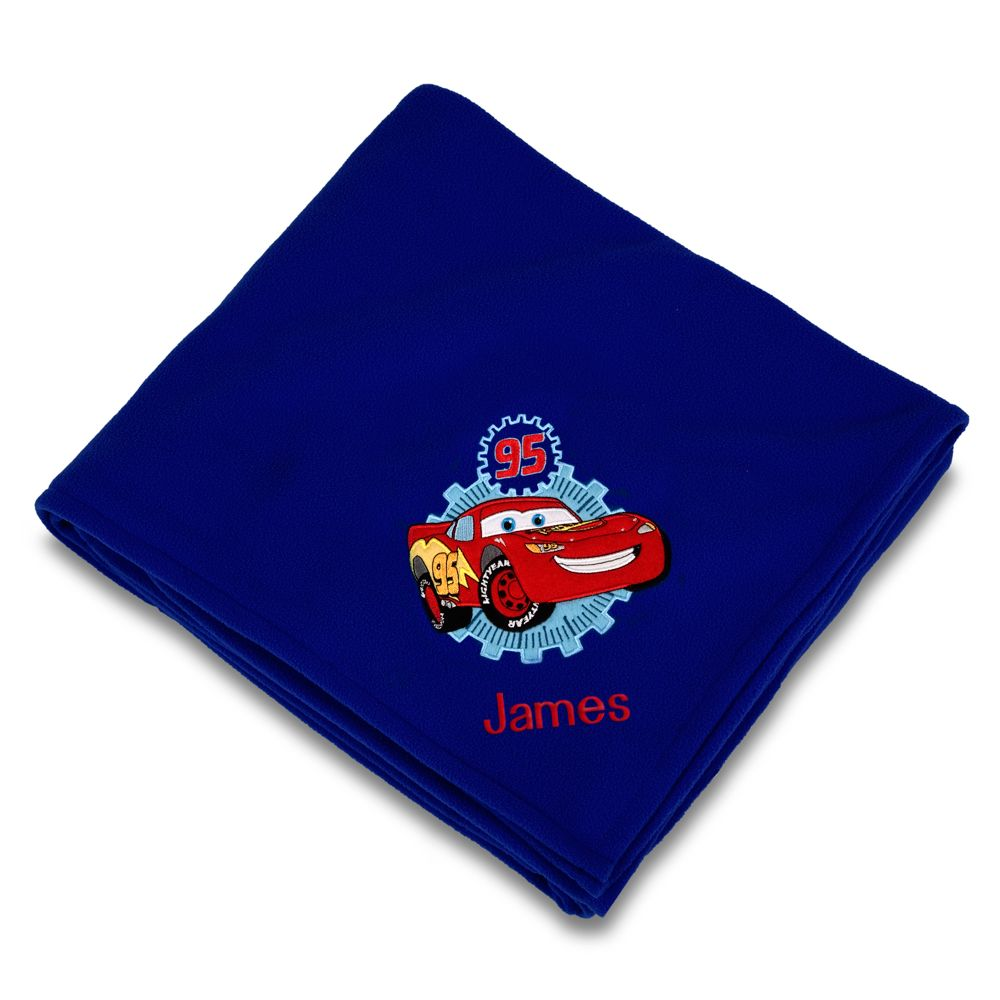 Personalized Disney Cars Throw Blanket