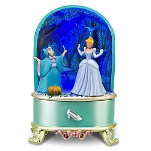 Light-Up Diorama Cinderella Trinket Box