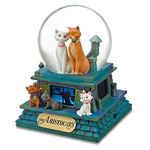 40th Anniversary The Aristocats Snowglobe