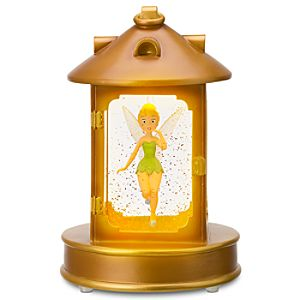 Light Up Tinker Bell Lantern Snowglobe