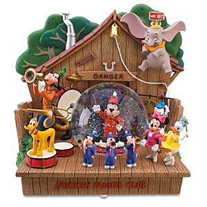 55th Anniversary Musical Mickey Mouse Club Snowglobe