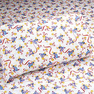 Eeyore Flannel Sheet Set