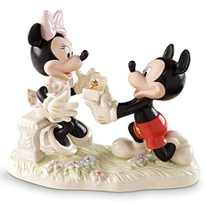 Mickey and Minnie Proposal by Lenox