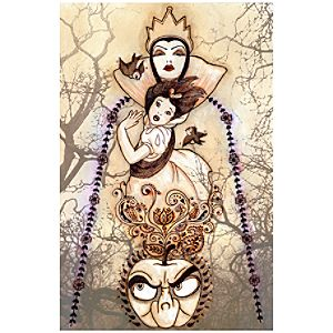 """Flight From the Forest"" Snow White Limited Edition Giclée"