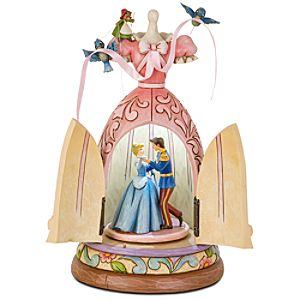 A Dream is a Wish Your Heart Makes Cinderella Dress Figurine by Jim Shore
