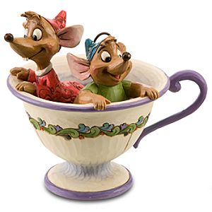Tea for Two Gus and Jaq Figurine by Jim Shore