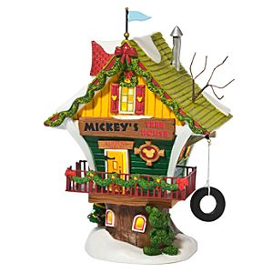 Light-Up Mickeys Tree House Building by Dept. 56