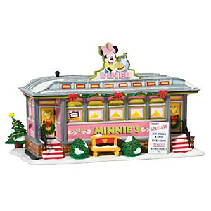 Light-Up Minnies Diner Building by Dept. 56