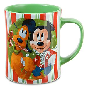 Holiday Friends Minnie Mouse and Mickey Mouse Mug