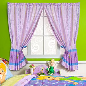 Pixie Dust Tinker Bell Curtain Set