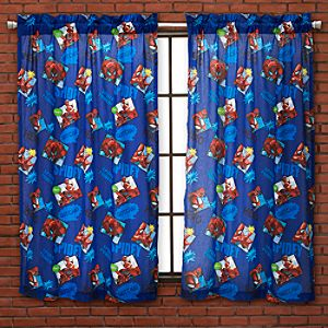 Action Spider-Man Curtain Set