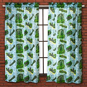 Incredible Hulk Curtain Set