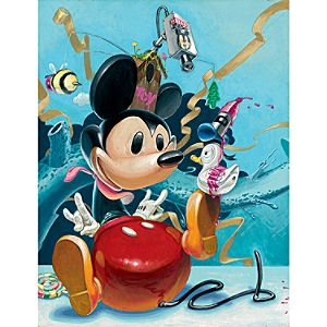 Tenga Bloc28 Mickey Mouse Wall Graphic by Fathead