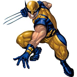 Wolverine Wall Graphic Set by Fathead -- 6-Pc.