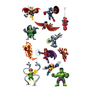 Superhero Squad Wall Graphic Set by Fathead -- 14-Pc.