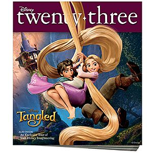 D23 Disney twenty-three Fall 2010 Magazine