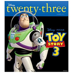 D23 Disney twenty-three Summer 2010 Magazine -- Buzz Lightyear Cover