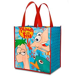 Reusable Phineas and Ferb Tote