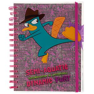 Phineas and Ferb Agent P Journal