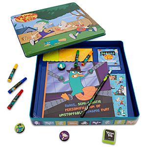 Phineas and Ferb Activity Tin Art Set