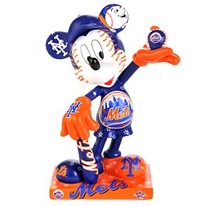 New York Mets 2010 All-Star Game Mickey Mouse Figurine - 7 1/2