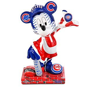Chicago Cubs 2010 All-Star Game Mickey Mouse Figurine - 7 1/2