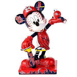 St. Louis Cardinals 2010 All-Star Game Mickey Mouse Figurine - 7 1/2