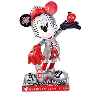 American League 2010 All-Star Game Mickey Mouse Figurine - 7 1/2