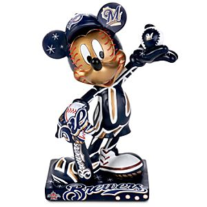 Milwaukee Brewers 2010 All-Star Game Mickey Mouse Figurine - 7 1/2