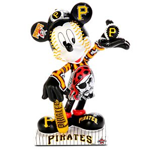 Pittsburgh Pirates 2010 All-Star Game Mickey Mouse Figurine - 7 1/2