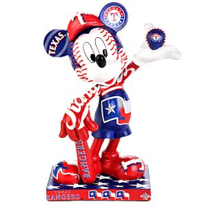 Texas Rangers 2010 All-Star Game Mickey Mouse Figurine - 7 1/2
