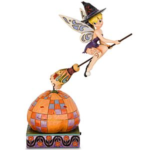 Rotating Pixie Takes Flight-Witch Tinker Bell Figurine by Jim Shore