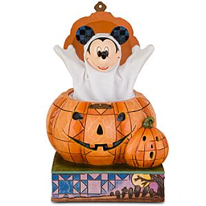 Halloween Jack-o-Lantern Mickey Mouse Figurine by Jim Shore
