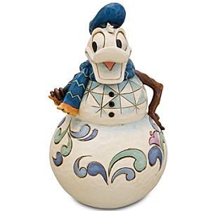 Snowman Donald Duck Figurine by Jim Shore