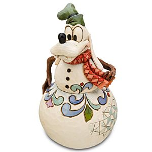 Snowman Goofy Figurine by Jim Shore