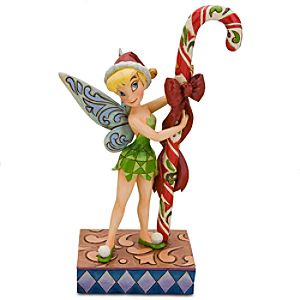 Candy Cane Tinker Bell Figurine by Jim Shore