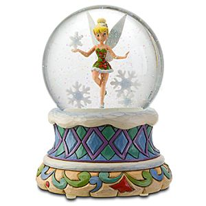 Holiday Tinker Bell Snowglobe by Jim Shore