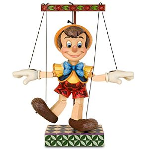 70 Years of Wishing on a Star Pinocchio Marionette Figurine by Jim Shore